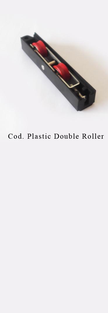 PLASTIC DOUBLE ROLLER